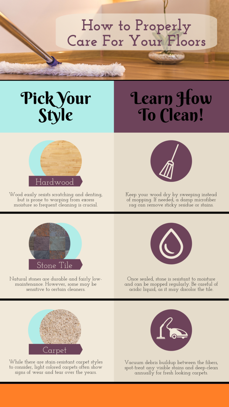 how-do-you-take-care-of-hardwood-floors-infographic