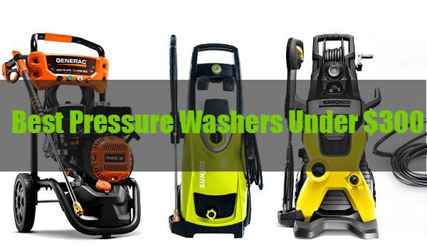 best-electric-pressure-washer-under-300