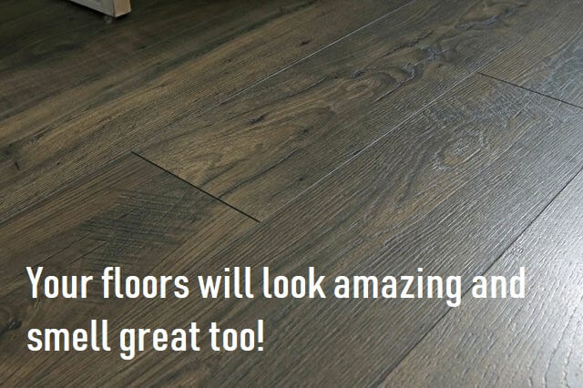 DIY Laminate Floor Polish