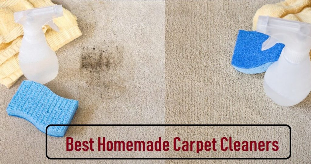 best homemade carpet cleaners