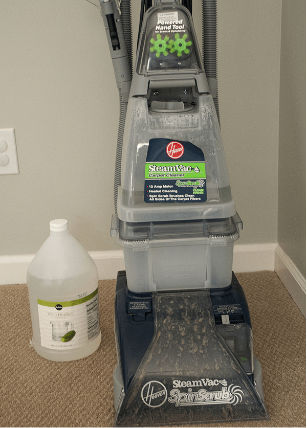 vinegar in carpet cleaner
