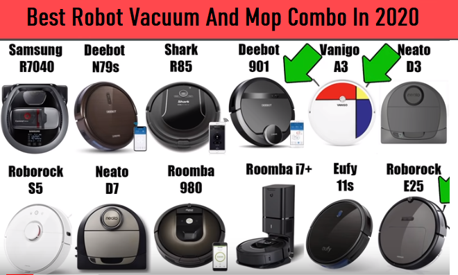 The 10 Best Robot Vacuum And Mop Combo 2020 Reviews And