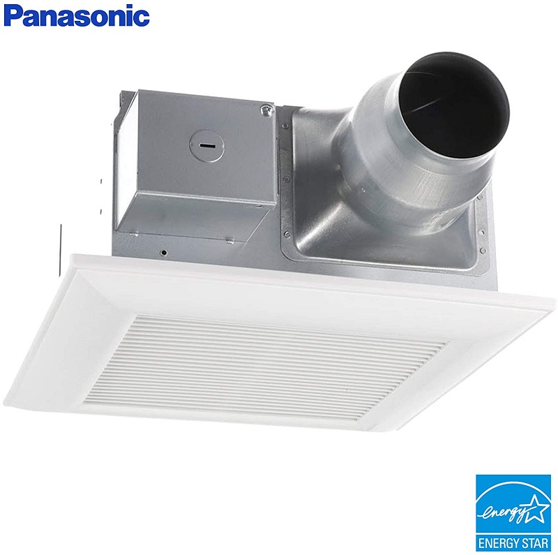 Panasonic FV-08-11VF5 WhisperFitEZ Fan – Best Bathroom Exhaust Fan with Humidity Sensor