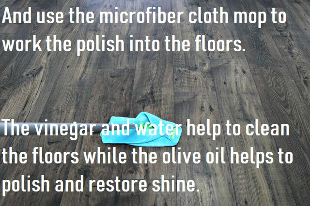 Homemade Polish For Laminate Floor  With Vinegar
